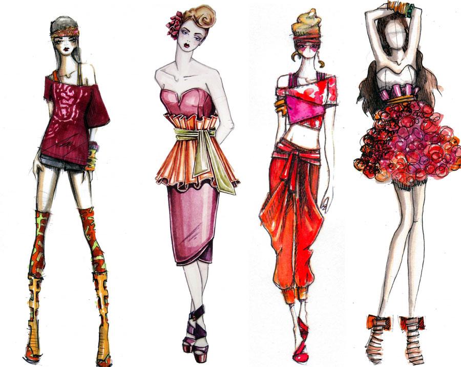Working Drawing Fashion 3