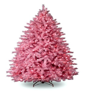 pink-artificial-christmas-tree